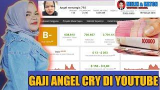 Gaji Angel Cry Dari Youtube Berapa Penghasilan Angel Cry
