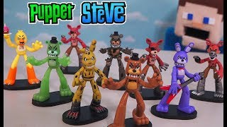 Fnaf HeroWorld Funko Five Nights at Freddy's Unboxing Action Figures Series 1 Toys