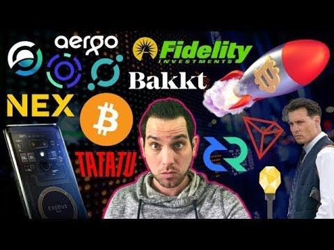 Fidelity to Bring $360 Billion (or more) to Crypto?!? HTC Blockchain Phone | Johnny Depp x TaTaTu