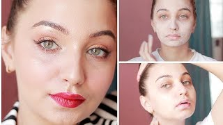 How to get healthy and Glowy Skin in 5 Minutes | HONEST SKINCARE ROUTINE |Tejaswi |