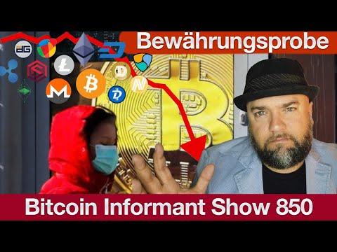#850 Bitcoin Bewährungsprobe, Coinmarketcap Binance Übernahme & Altcoins am Abgrund