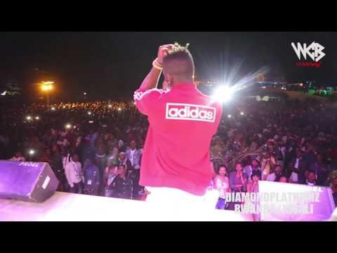 Diamond Platnumz - Live performance at Rwanda/kigali (part 2)