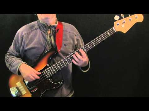youtube how to play be my wife on bass