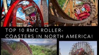 top 10 rmc roller coasters in north america
