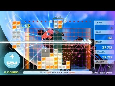 LUMINES REMASTERED - Basic Complete