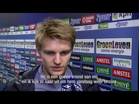 """Ødegaard: """"Ik denk dat Heerenveen een goede club voor mij is."""""""