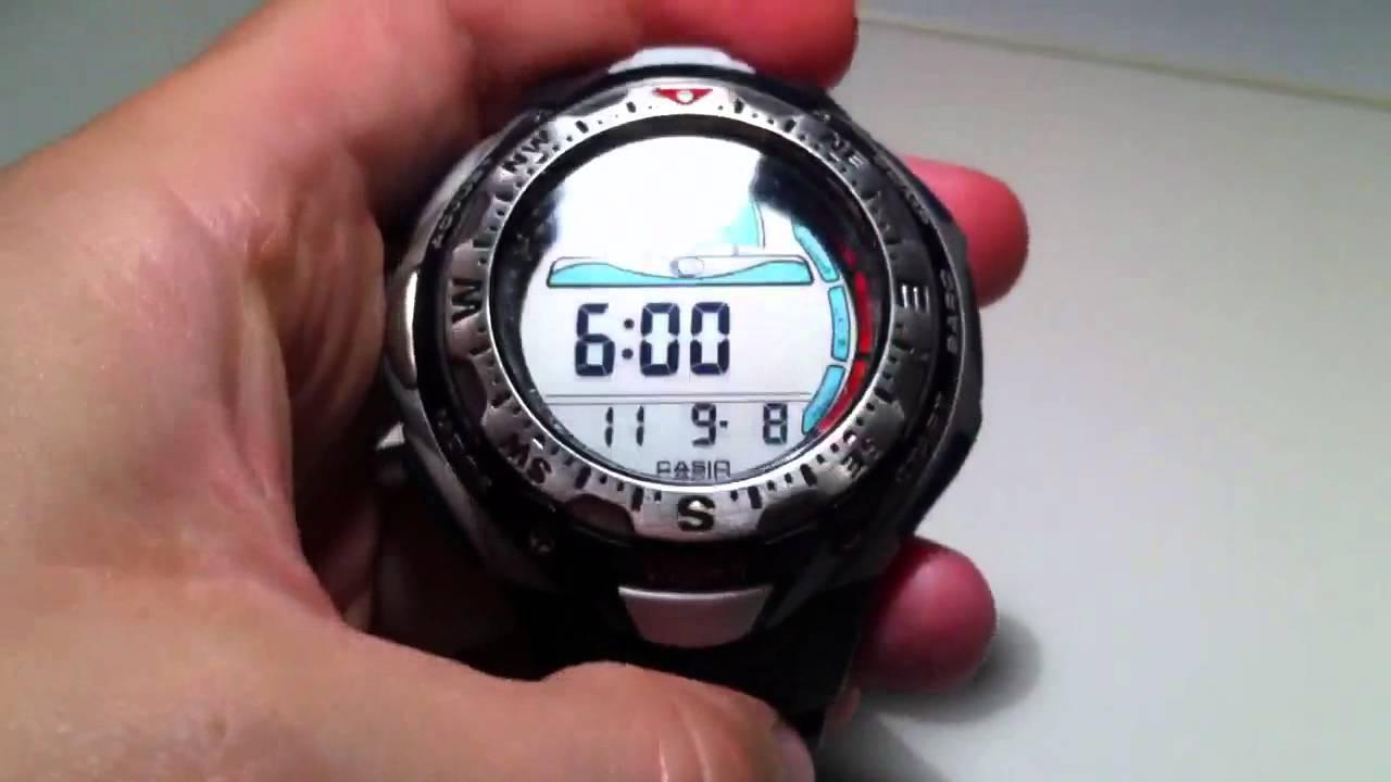 triple sensor casio pathfinder spf 40 youtube rh youtube com