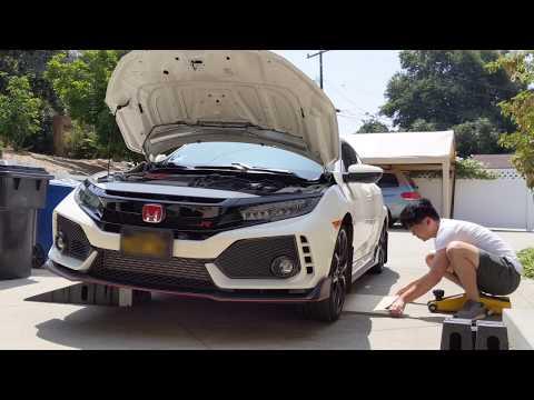2017+ FK8 Civic Type R Oil Change
