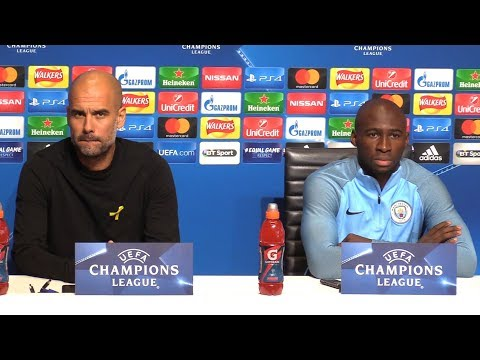 Pep Guardiola & Eliaquim Mangala Full Pre-Match Press Conference - Manchester City v Feyenoord