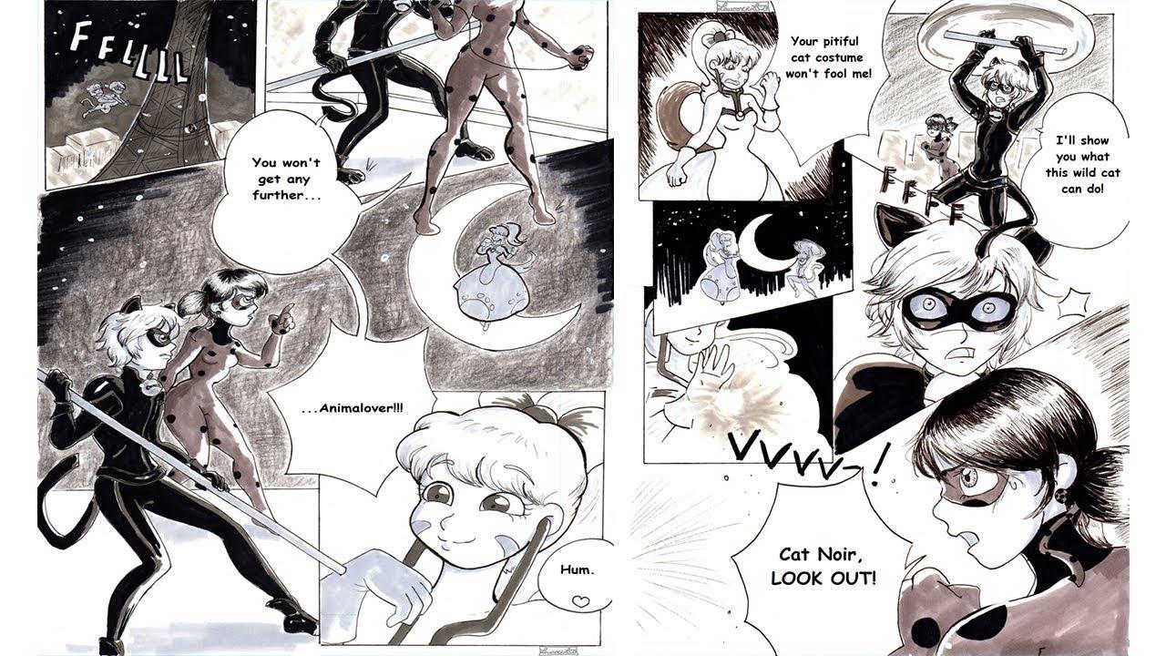 Animalover Miraculous Ladybug Comics Youtube