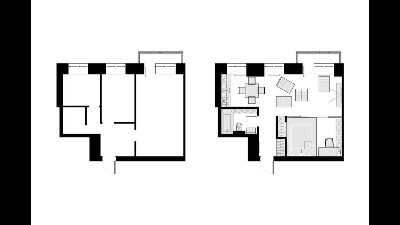 500 square foot house floor plans part 1 youtube for 500 sq ft home plans