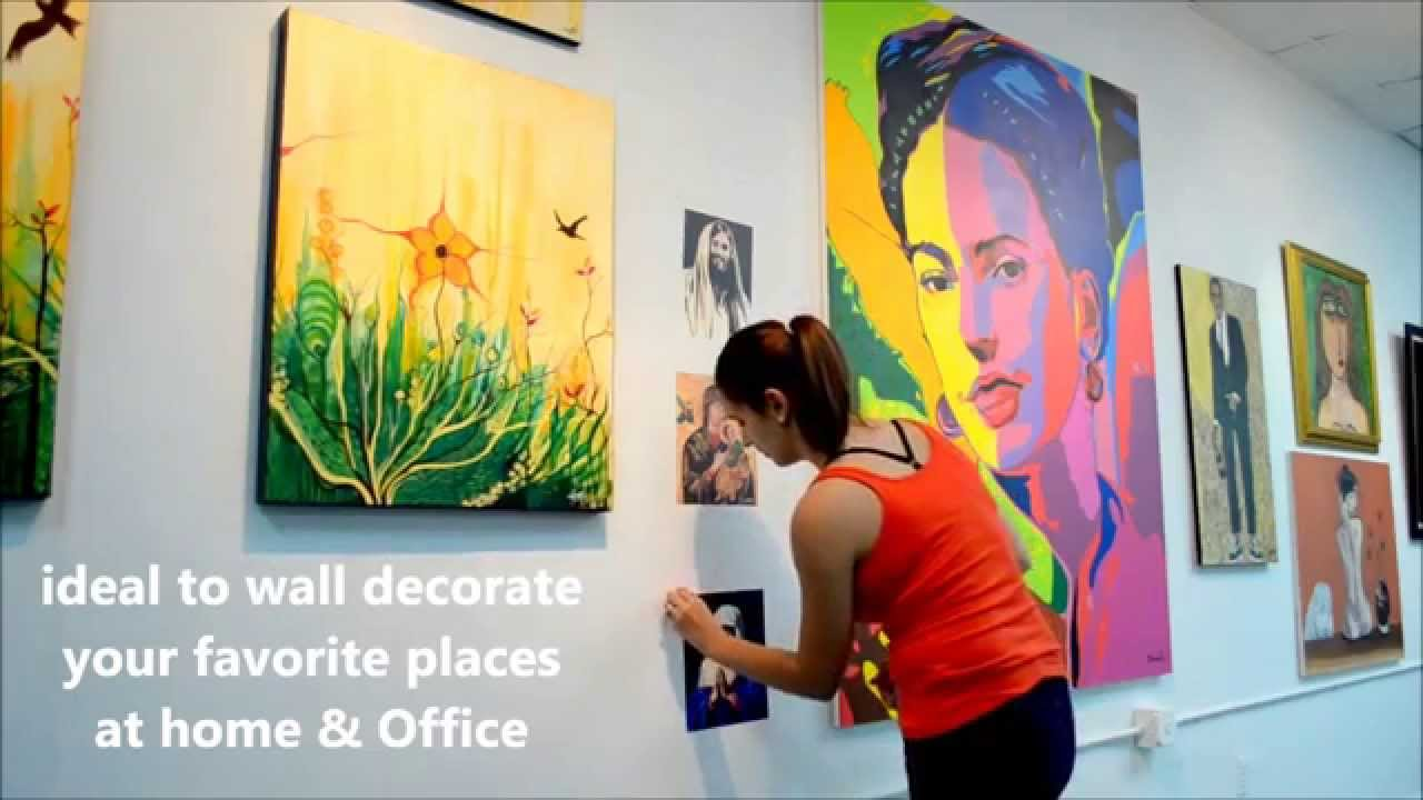 HOW TO INSTALL WALL ART STICKERS BY ROSARIO MARIANO PEEL  STICK - How do you put up wall art stickers