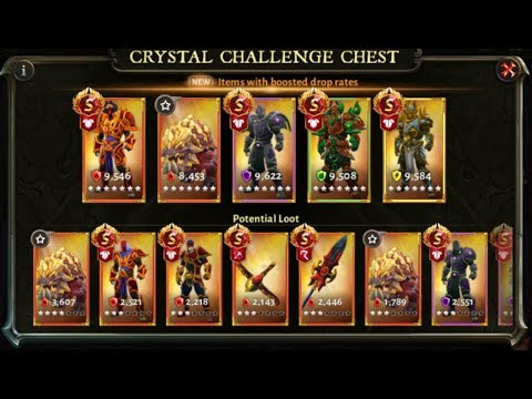 DH 5 250,000 Crystal Shards( Citadel Of Disorder Event)