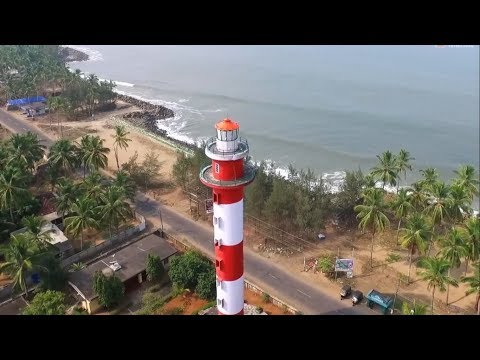 Guhagar Light House HD | Aerial Filming | Nine Exposures