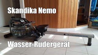 Skandika Nemo Wasser Rudergerät ähnlich House of Cards Waterrower
