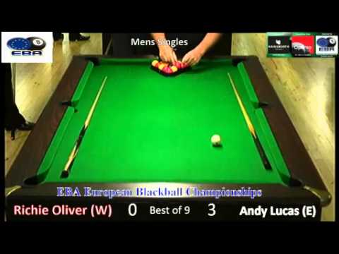 2015 European Championships - Singles Mens - Andy Lucas v Richie Oliver