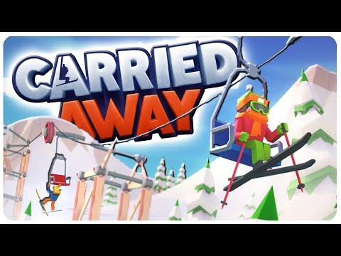 BUILD and DESIGN Ski Lifts n' More, Poly Bridge Like! | CARRIED AWAY Gameplay