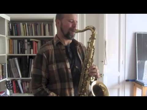 My take on Invitation jazz standard saxophone solo YouTube