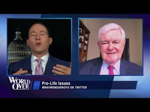 World Over – 2020-06-25 – Newt Gingrich with Raymond Arroyo