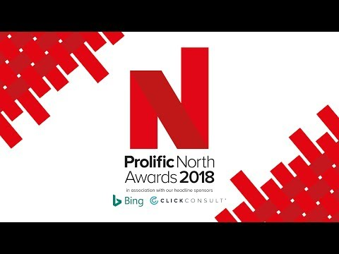 PR Agency of the Year (Over 10 Employees) Winner - Prolific North Awards 2018