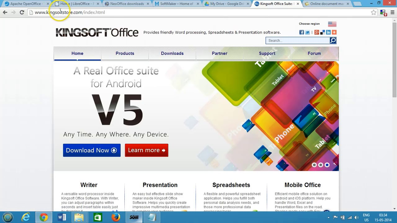 5 free open source alternatives to microsoft office