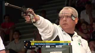 50m Men's Pistol final - Granada 2013 ISSF World Cup in All Events