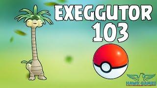 Alolan Exeggutor caught - Generation 7 Pokedex 103 - Pokemon GO [No Hack]