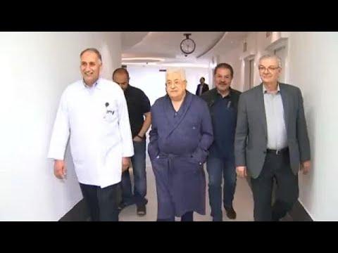 Mahmoud Abbas hospitalizado por pneumonia