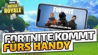 Fortnite kommt fürs Handy - ♠ Fortnite Battle Royale ♠ - Deutsch German - Dhalucard