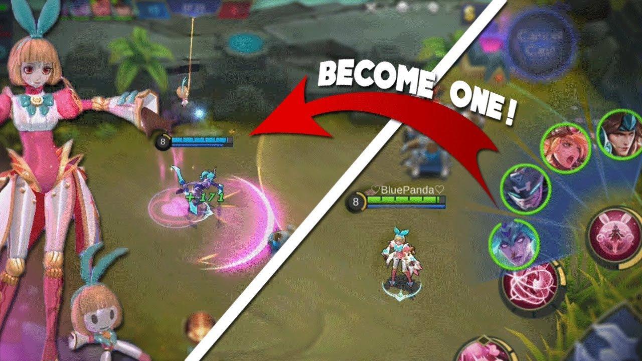 NEW Hero Angela Gameplay! (Take Over Teammates!) Teleport & Immortal!