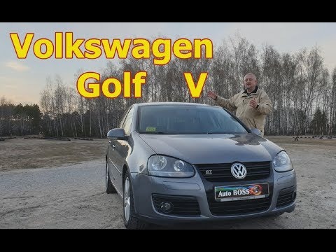 """Фольксваген Гольф 5/VW, Volkswagen Golf V  """"ПРОСТО ГОЛЬФ... НО УЖЕ НЕ """"ПРОСТОЙ"""" Видео обзор"""