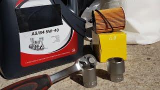 Facile !!! Vidange moteur et remplacement de filtre a huile Citroën C1
