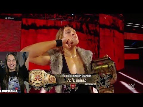 WWE Raw 11/6/17 Pete Dunne Entrance