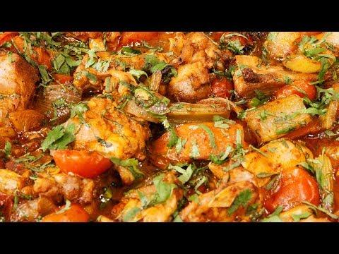 Simple Moroccan Chicken Tagine