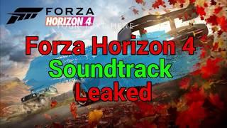 Forza Horizon 4 Soundtrack Leaked