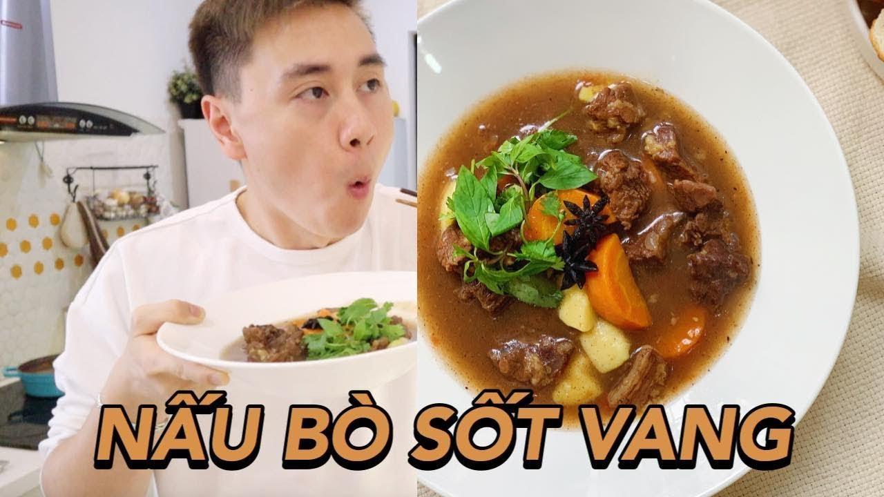 [ Mâm Cơm Nhà Bạn ] Cách làm bò sốt vang tuyệt ngon Vlog 78