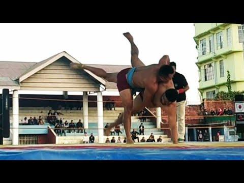 Venuzo 92 kg Vs Dzieselatuo 119 kg in semifinal/ Naga Wrestle Mania 2018