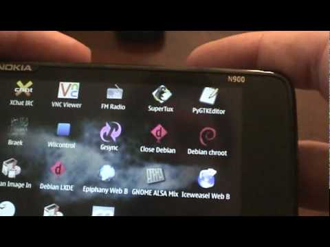 Installing Debian on the N900