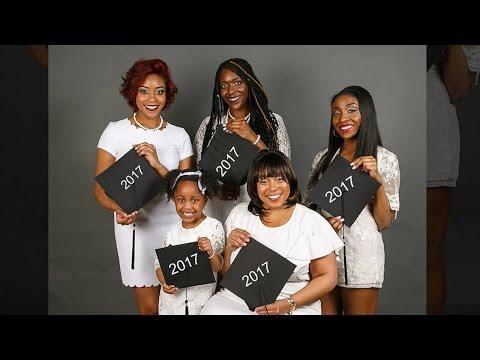 Family Celebrates 3 Generations of Women Graduating This Year