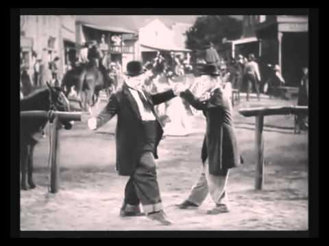 LAUREL AND HARDY DANCING TO BOB SINCLAR