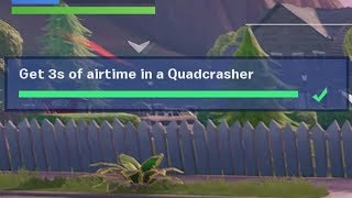 ✅ Get 3s of airtime in a Quadcrasher - Fortnite Week 3 Season 9 Challenges
