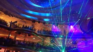 AIDAPerla Lasershow - 16.06.2017