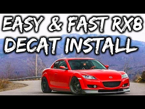 Mazda Rx8 Decat Install - Easy & Fast!