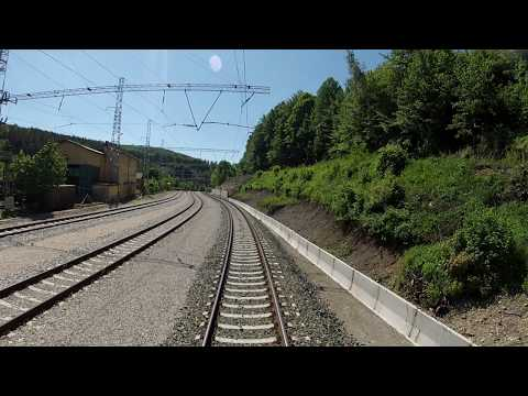 Bulgarian railways cab ride: Balkan crossing railway G. Oryahovitsa - Tulovo
