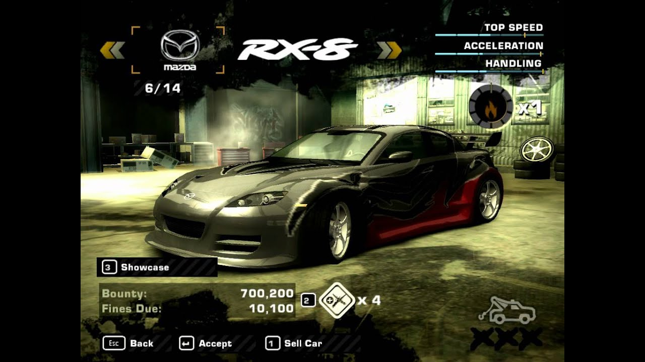 Need for Speed Most Wanted 2005 - Some Rival Cars - YouTubeNfs Most Wanted Cars 2005