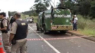 Bandidos assaltam carro-forte na BR-050, em Uberlândia