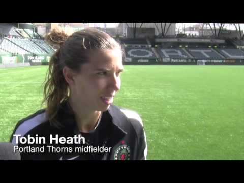 Watch: Christine Sinclair, Tobin Heath and Mark Parsons on Thorns, international call-ups