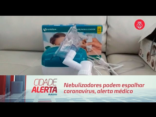 Nebulizadores podem espalhar coronavírus, alerta médico