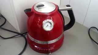 Обзор чайника KitchenAid: тихий металлический электрочайник Artisan (iron kettle)