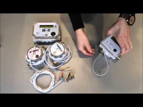 Счетчик воды 4-ех тарифный ЛВ-4Т электронный.
